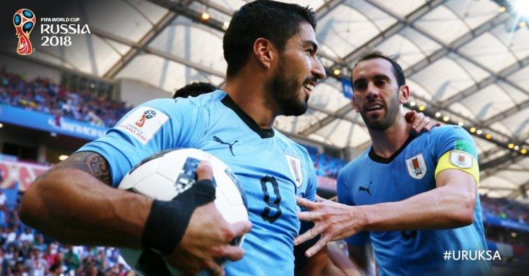 Luis Suárez  @Fifaworldcup
