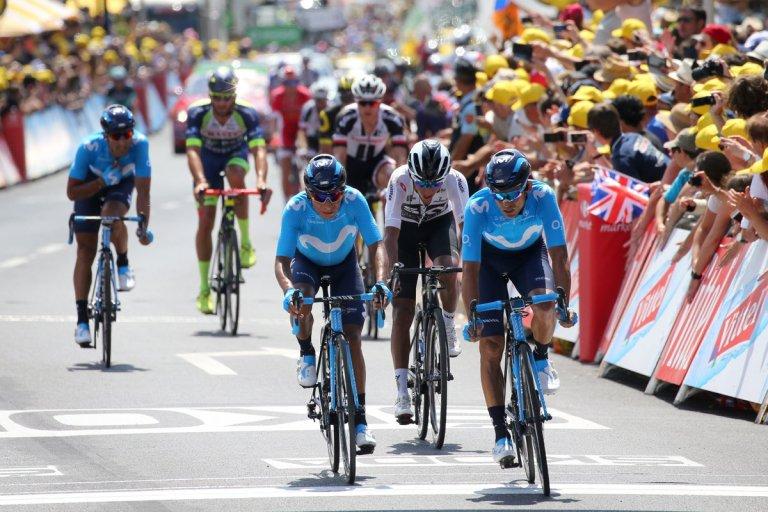Nairo Quintana etapa 1 Tour de Francia @Bettiniphoto