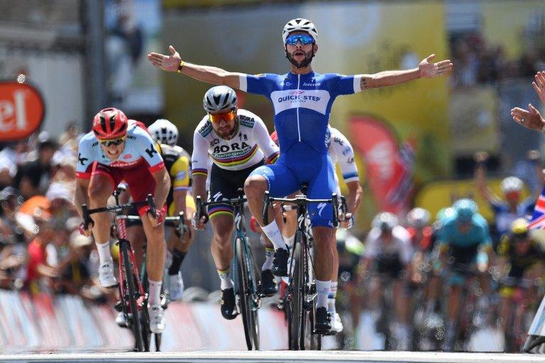 Fernando Gaviria etapa 1 tour de Francia @  Gettysport