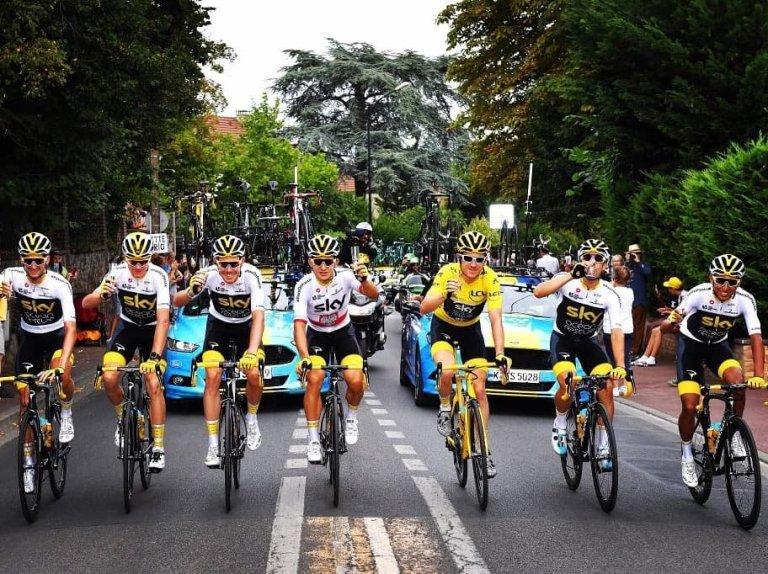 Sky volvió a dominar el Tour de Francia