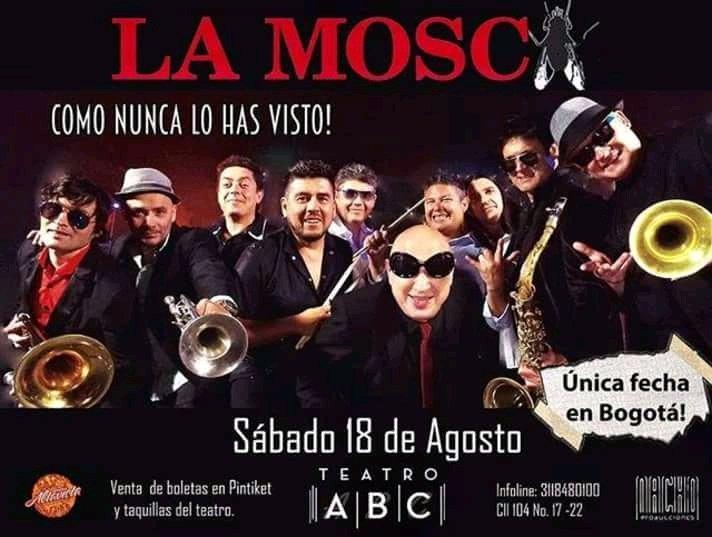 La Mosca se presentará en el Teatro ABC