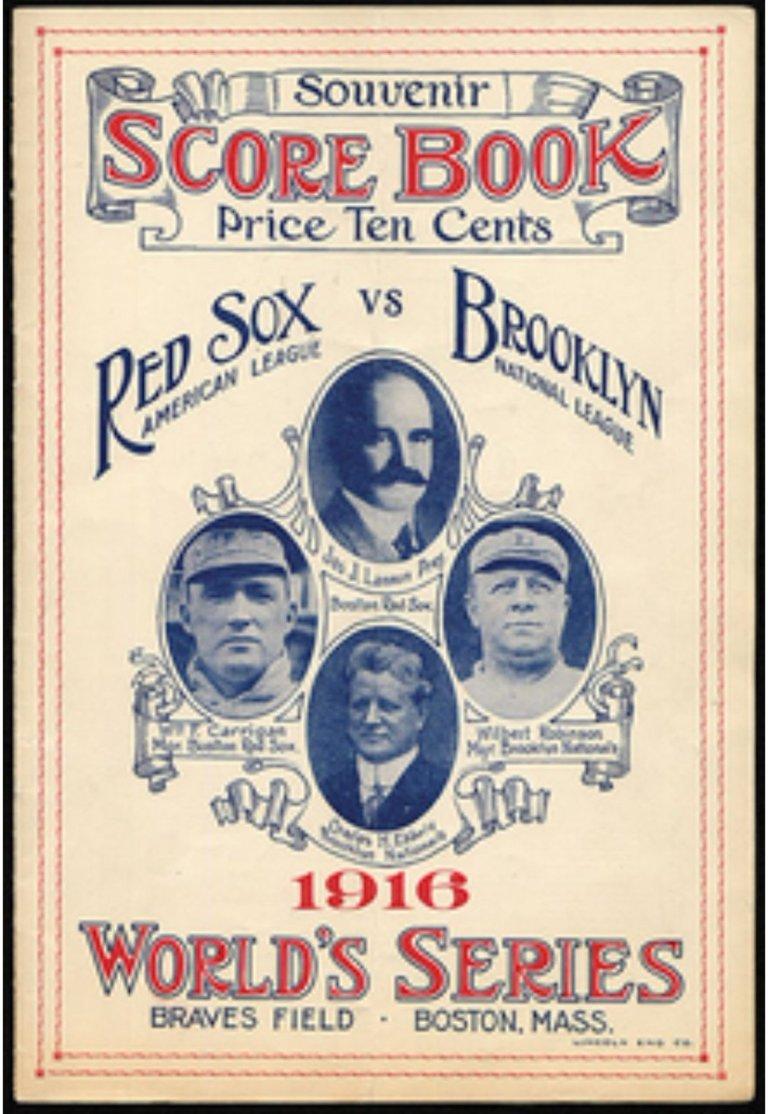 Serie Mundial 1916