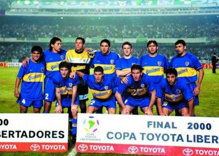 Boca Juniors campeón Libertadores 2000