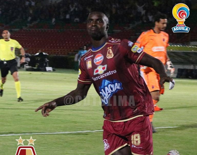 Marco Pérez, goleador del Tolima