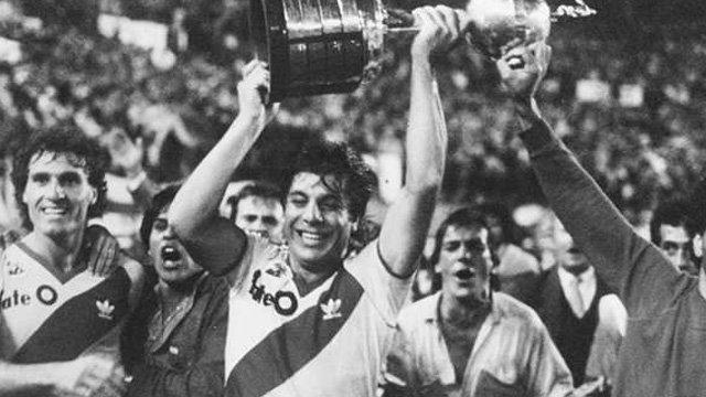 River Plate campeón Libertadores 1986