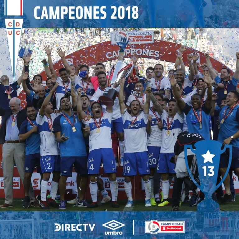 Ubniversidad Católica Campeón 2018