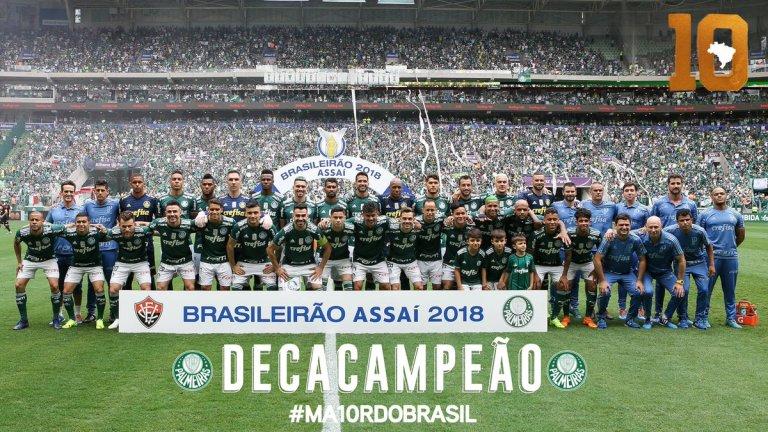 Palmeiras Campeón 2018