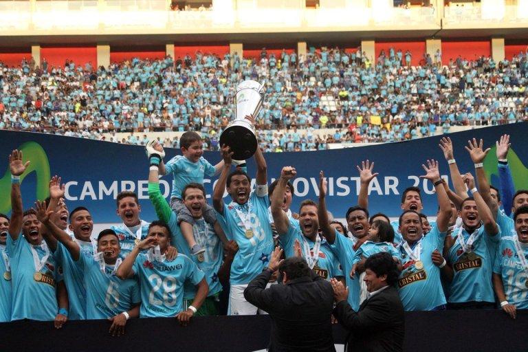 Sporting Cristal Campeón del Perú 2018