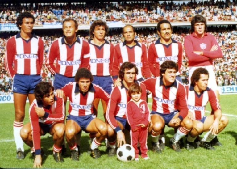 junior campeón 1980