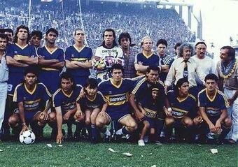 Boca campeón River Plate subcampeón