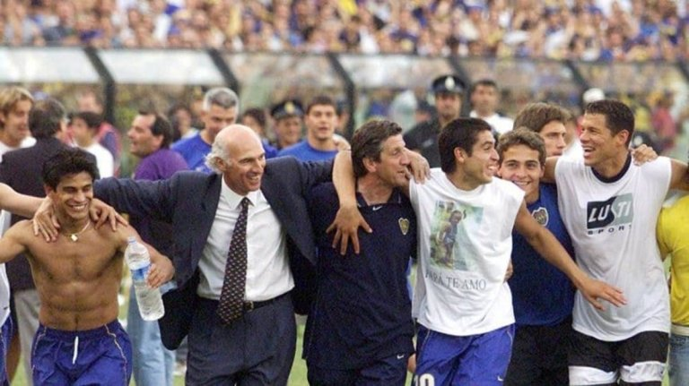 Boca Juniors campeón River Plate subcampeón.