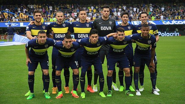 Boca campeón 2017.