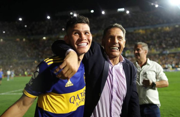 Jorman Campuzano campeón con Boca 2020