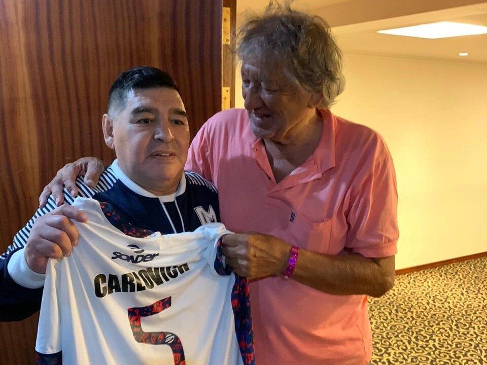 Carlovich y Maradona
