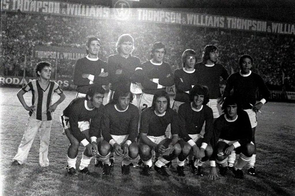 Selección Rosario ante Argentina 17 de abril 1974