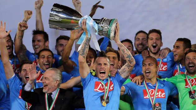 Napoli campeón Supercopa 2014