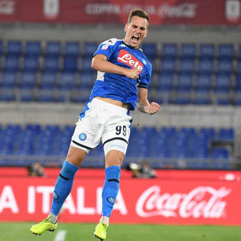 Napoli campeón Copa de Italia 2020