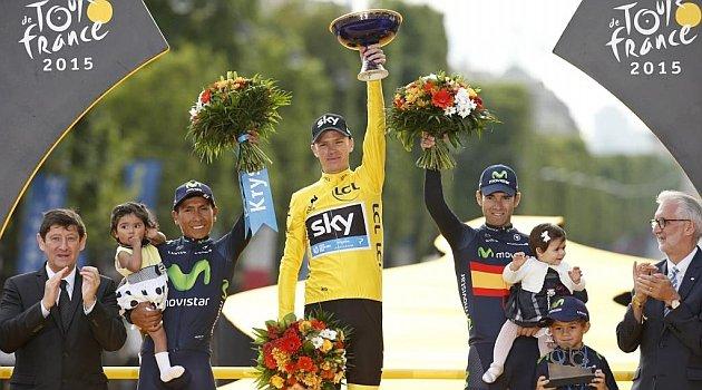 Chris Froome, campeón del Tour de Francia 2015