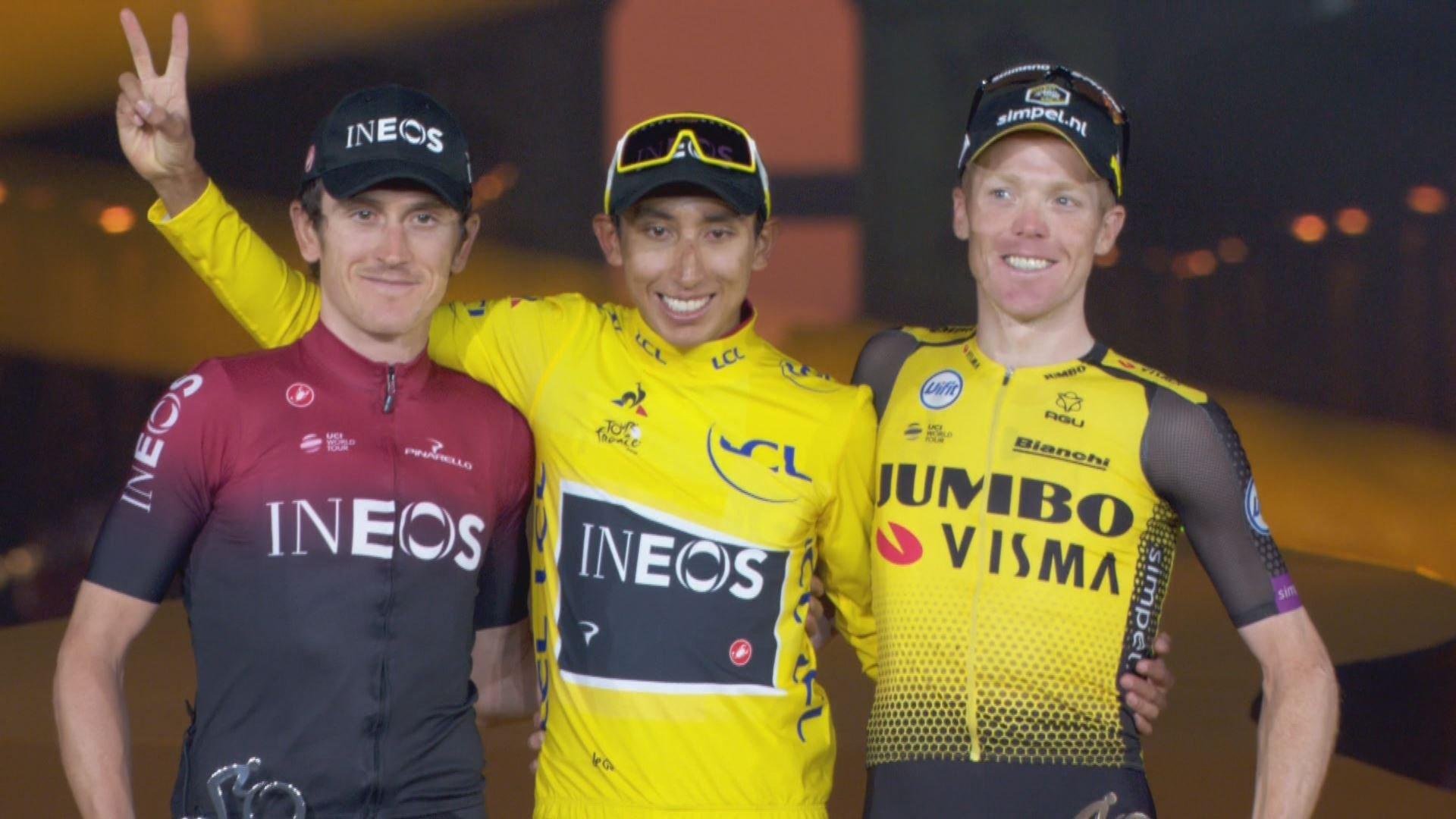 Egan Bernal campeón del Tour de Francia 2019