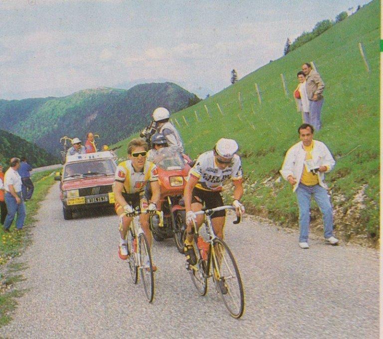 Lucho Herrera en Dauphiné Liberé 1988