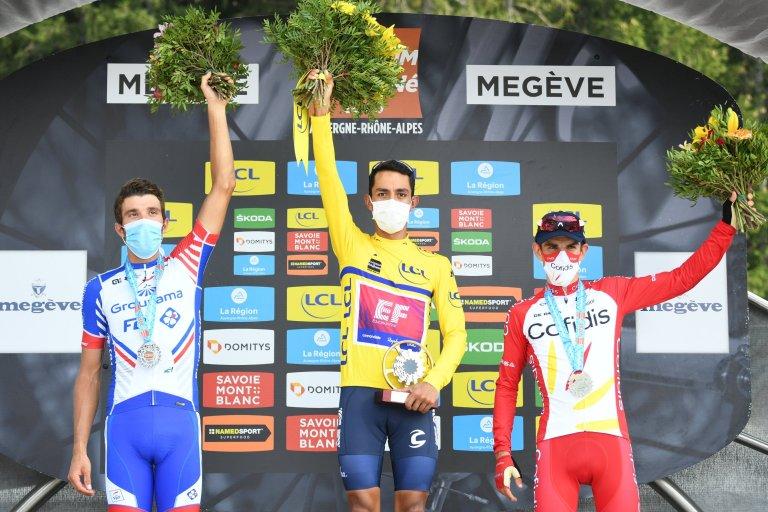 Podio Critérium du Dauphiné 2020