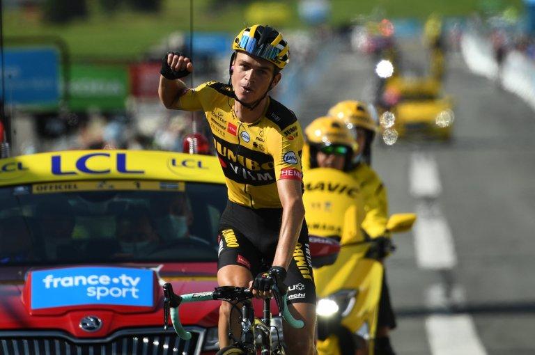 Sepp Kuss en Critérium du Dauphiné