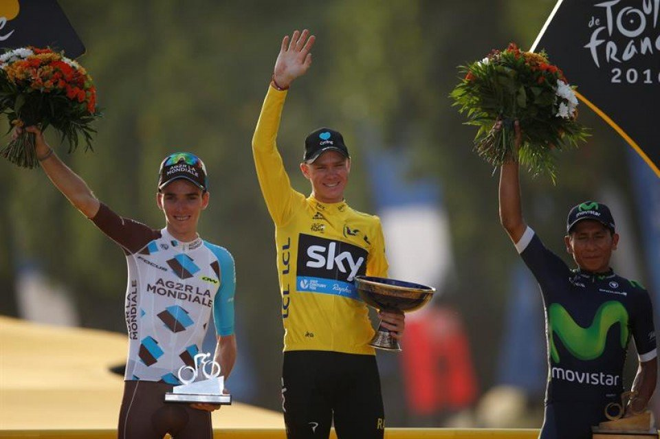 Chris Froome campeón Tour de Francia 2016