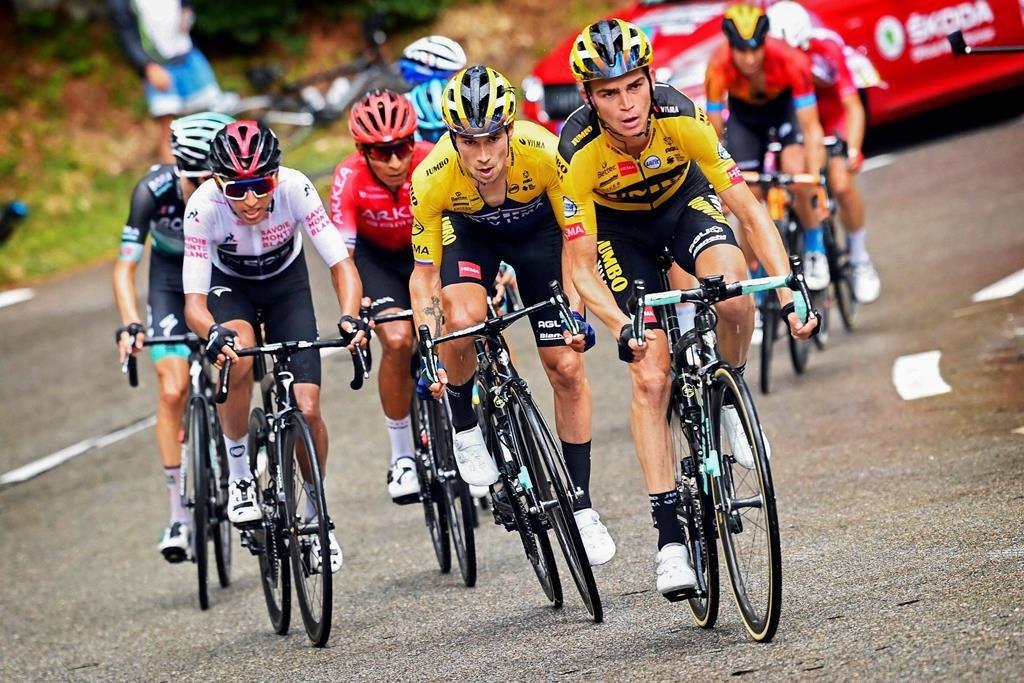 Roglic, Bernal, Quintana, una imagen que se verá en el Tour