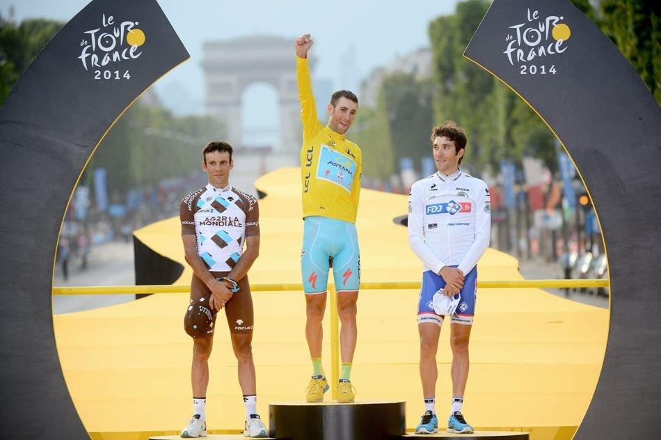 Vincenzo Nibali, Campeón Tour de Francia 2014