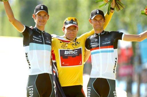 Cadel Evans campeón Tour de Francia 2011