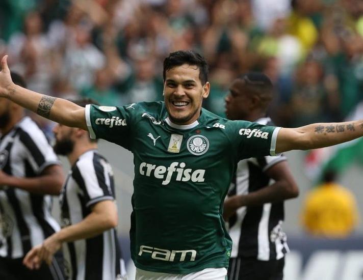 Gustavo Gómez en Palmeiras.