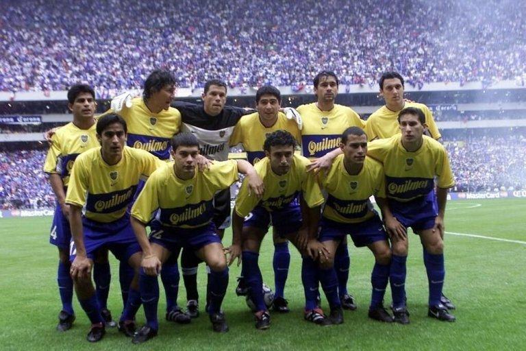 Boca Juniors campeón 2001 ante Cruz Azul.