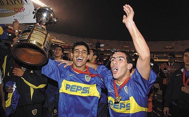 Boca Campeón 2003 ante Santos