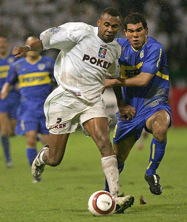 Boca subcampeón Libertadores 2004