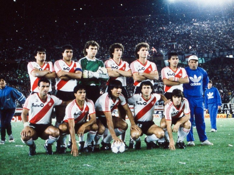 River Plate campeón 1986