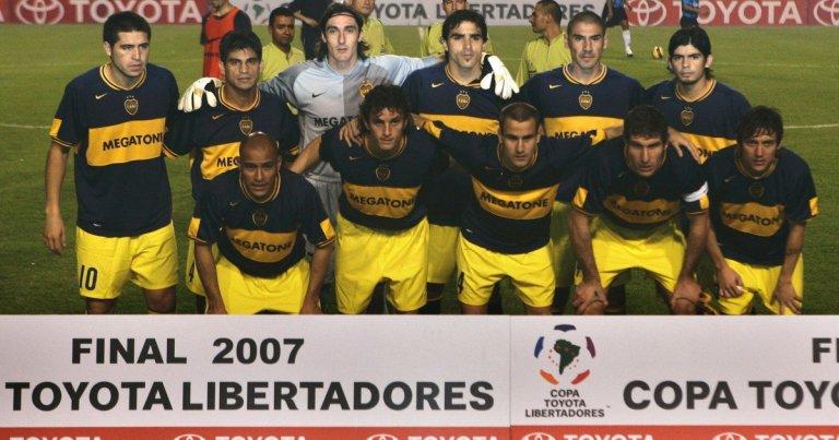 Boca Juniors campeón ante Gremio.