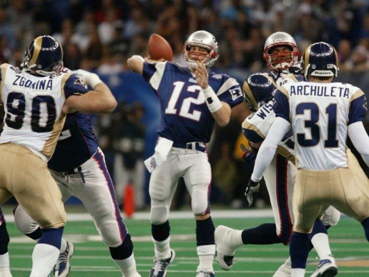 Patriots campeones Super Bowl 2002