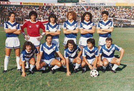Veléz Sarsfield Leo Rodríguez y Simeone
