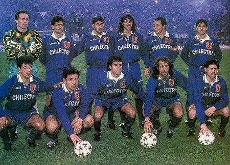 U de Chile bicampeón 1995