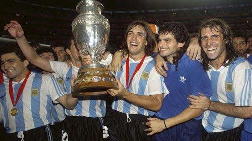 Argentina campeón Copa América 1993