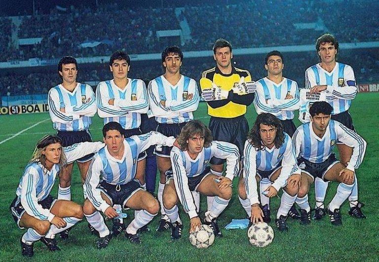 Argentina campeón Copa América 1991