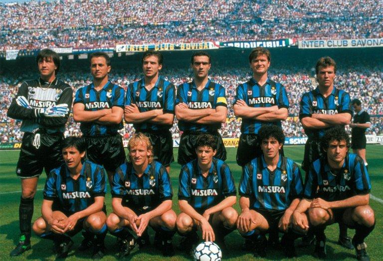 Inter Campeón Serie A 1988 - 1989