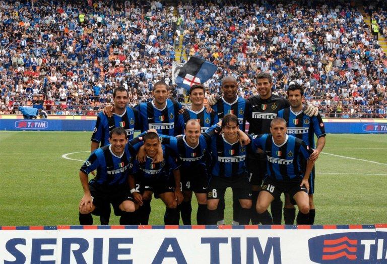 Internazionale campeón Serie A 2006 - 2007