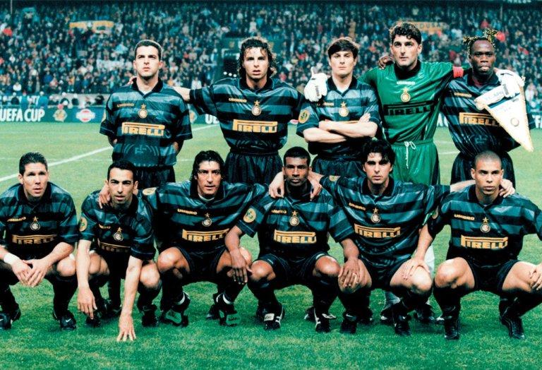 Internazionale campeón Copa UEFA 1997 - 1998