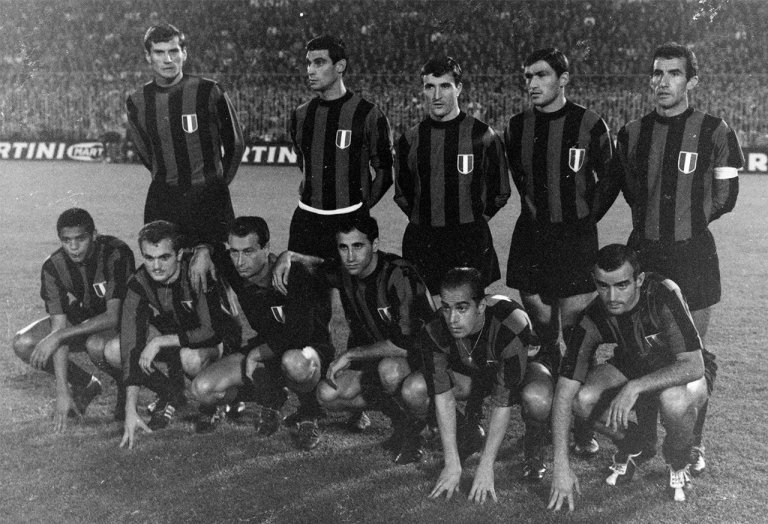 Internazionale campeón del mundo 1965.