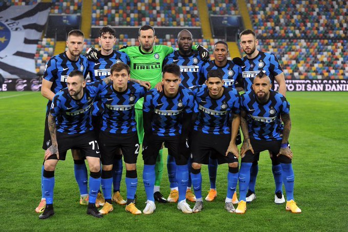 Plantilla Inter de Milán campeón 2020 - 2021