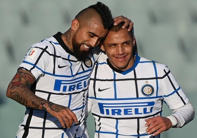 Inter campeón con Alexis Sánchez y Arturo Vidal